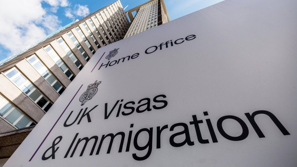 The Home Office UK Visas & Immigration Office at Lunar House in Croydon, London, UK.