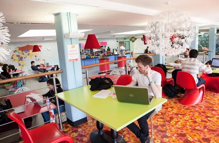 The Imagine Cafe at Royal Holloway University London (RHUL).