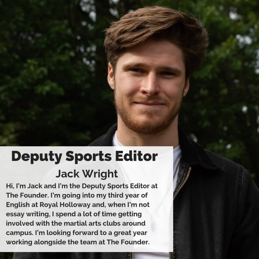 Deputy Sports Editor