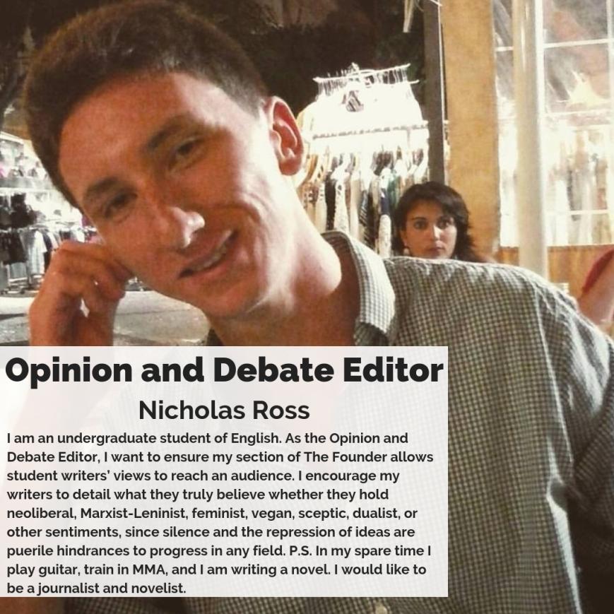 Opinion and Debate Editor