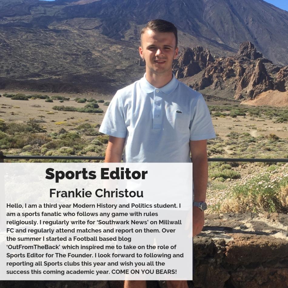 Sports Editor